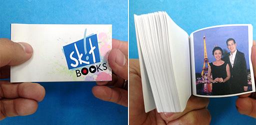 Skitbook Flipbook of Maya and Sir Chief
