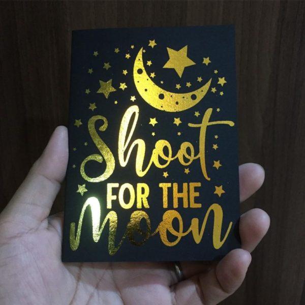 Pocket Notes - Gold Foil